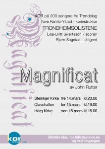 Magnificat - plakat