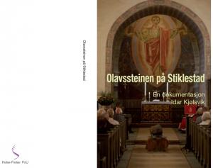 Layout til Idar Kjølsviks bok om Olavssteinen på Stiklestad