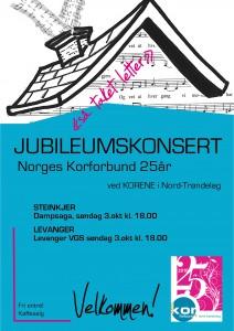 plakat jubileumskonsert